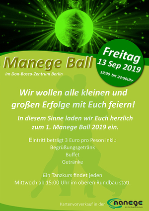 Plakat Ball Berlin